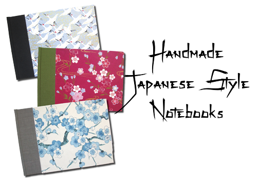 Handmade Japanese Notebooks Journals