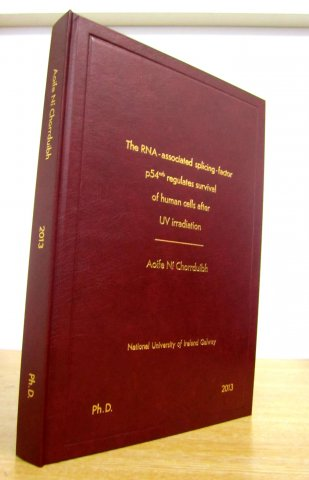 hardbound thesis wine nuig phd