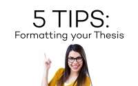 5 Tips : Formatting your Thesis